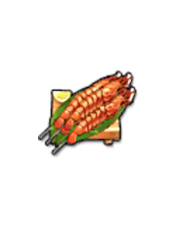 Trubius Seafood Kebab