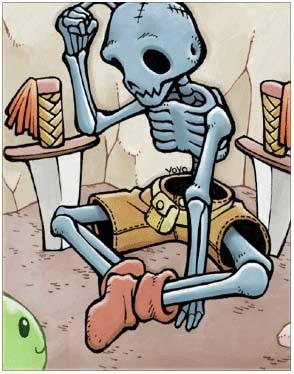 Soldier Skeleton Card
