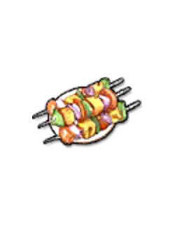 Rookie Vegetable Kebab