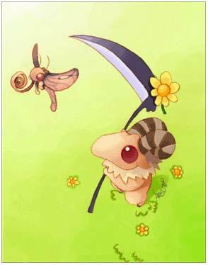 Baphomet Jr. Card
