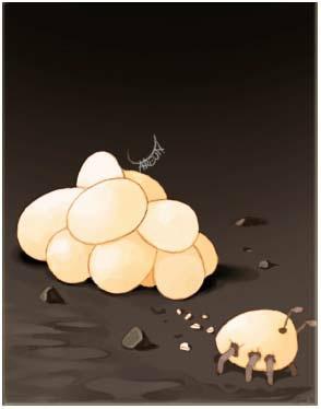 Meta Ant Egg Card